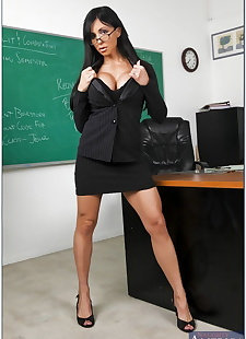 porn photos Sultry teacher in glasses Jewels Jade, ass , big tits